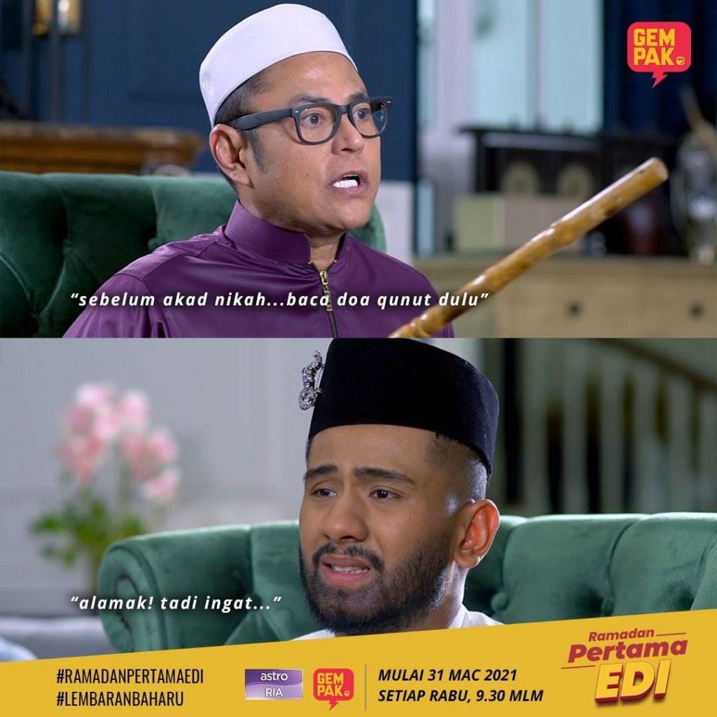 ramadan pertama edi