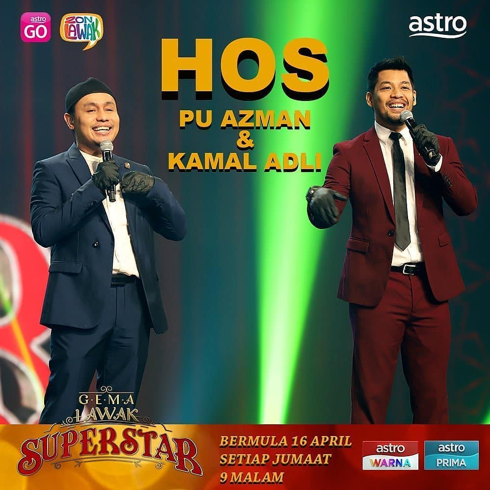 hos gema lawak superstar